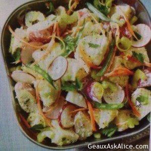 All-In-One Veggie Potato Salad