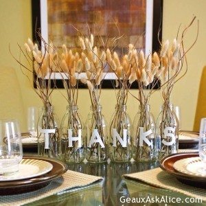 Another Thanksgiving decoration idea