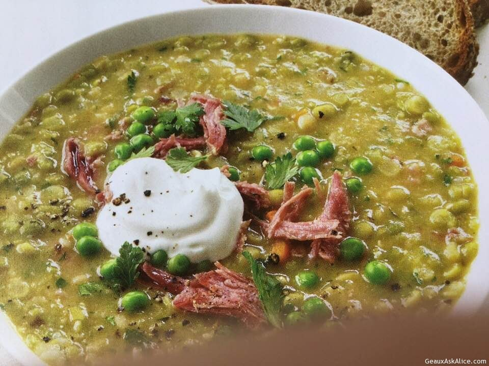 Crock Pot Split Pea And Turkey Soup