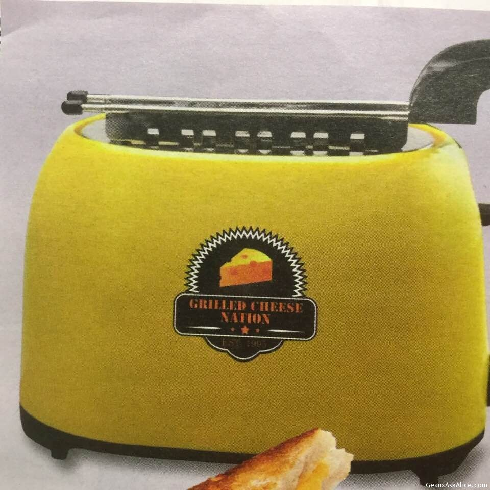 Today's Gadget Is The Electric Grilled Cheese Toaster!