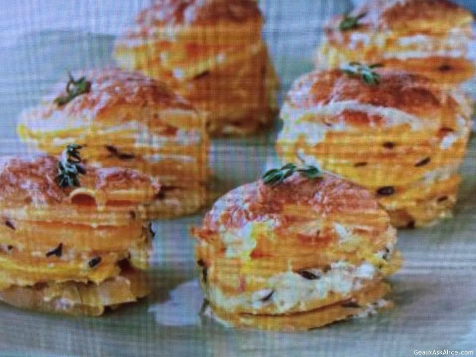 Fantastic Sweet Potato Stacks