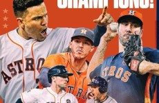 I believe Houston Astros felt like The NO Saints after winning Super Bowl after Katrina! Great job. Actually enjoyed watching the World Series. Bergman added a nice interest touch as well!