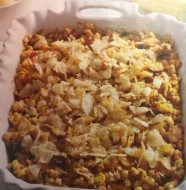 Zesty Corn and Tasso Casserole