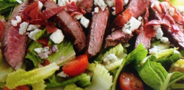BLT Steak Salad