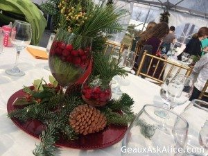 Easy Table Decor from things in your own back yard