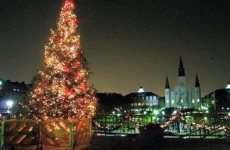 Great view of Jackson Square in the Big Easy