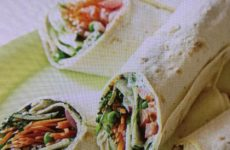 Greek Garden Wraps