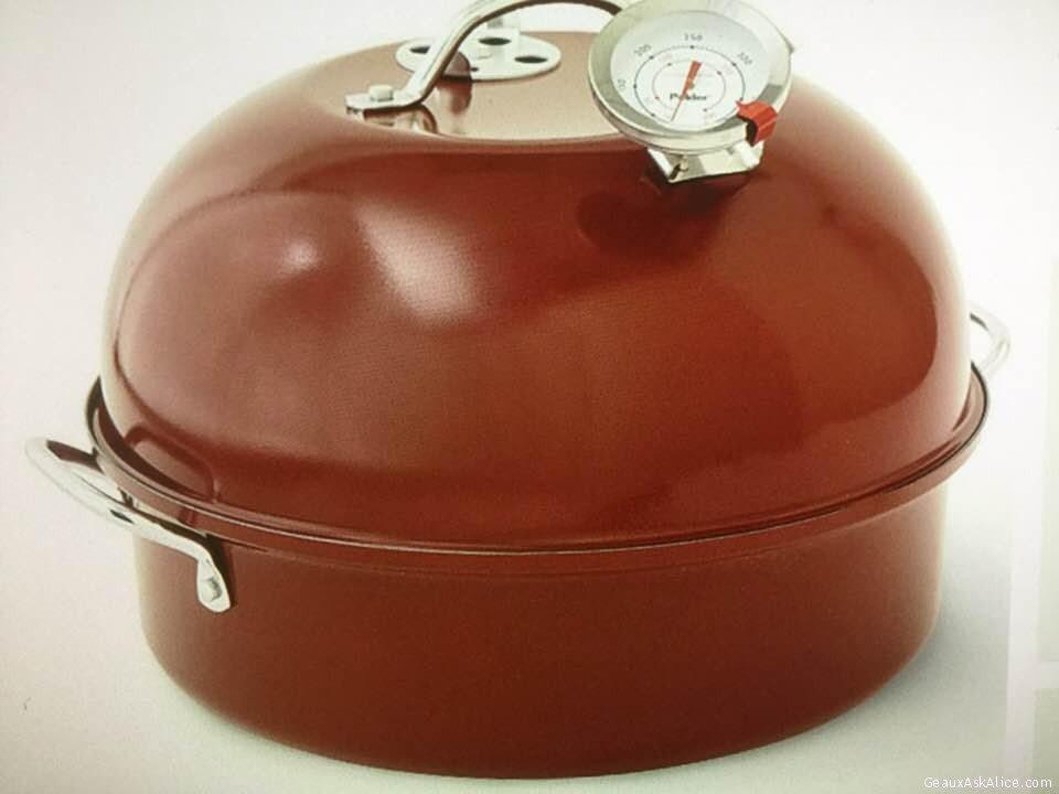 Today's Gadget Is The Nordic Ware Indoor/Outdoor Kettle Smoker!