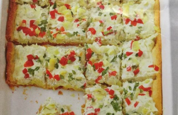 Colorful Artichoke Crescent Roll Appetizers