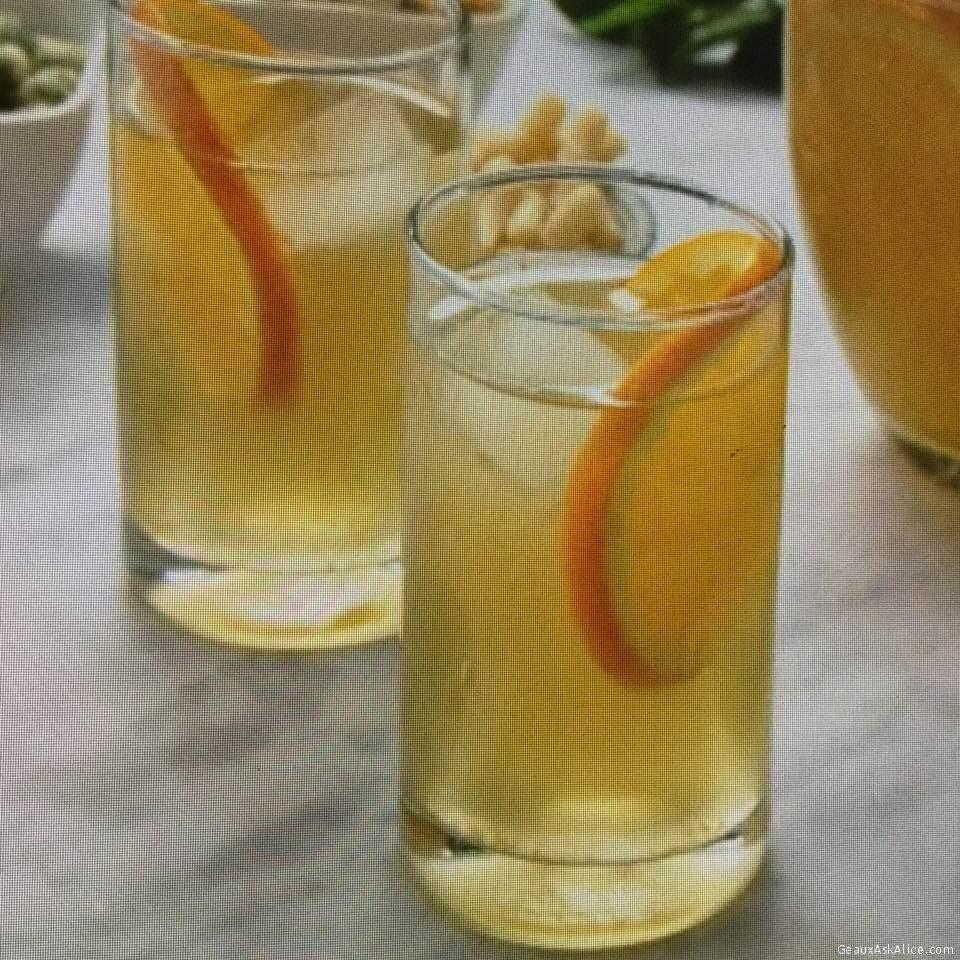 Green Tea And Citrus Cooler