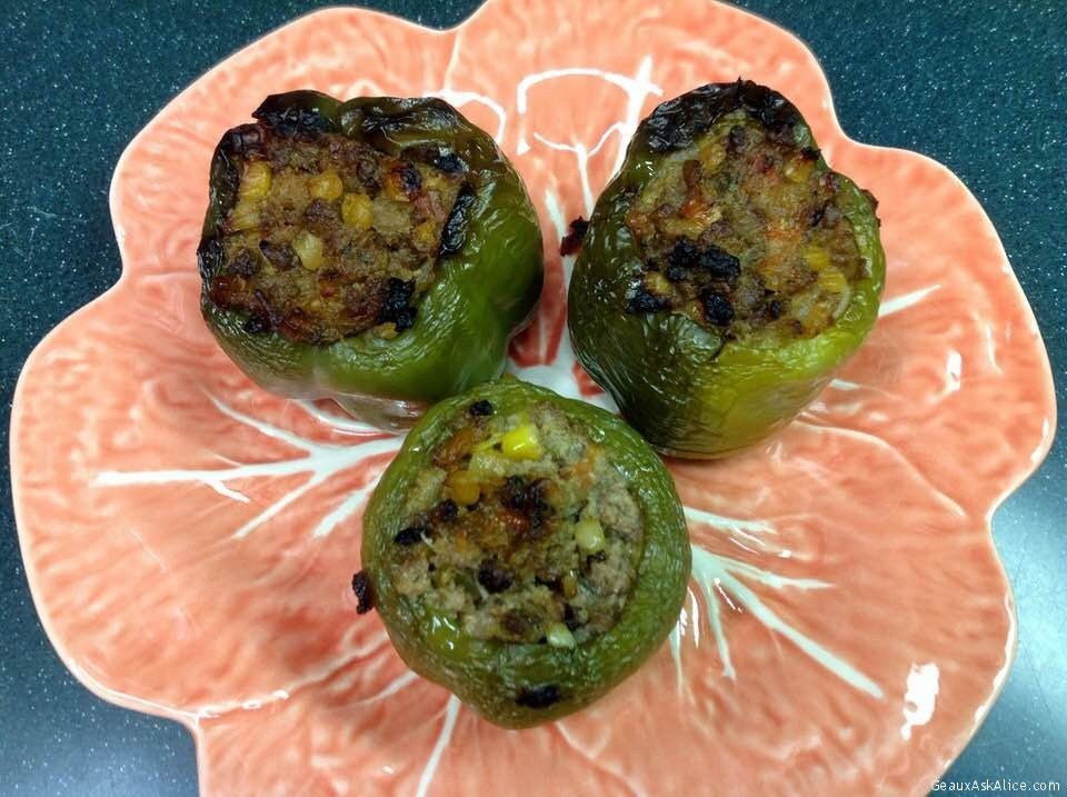 Alice's Italian Stuffed Bell Peppers