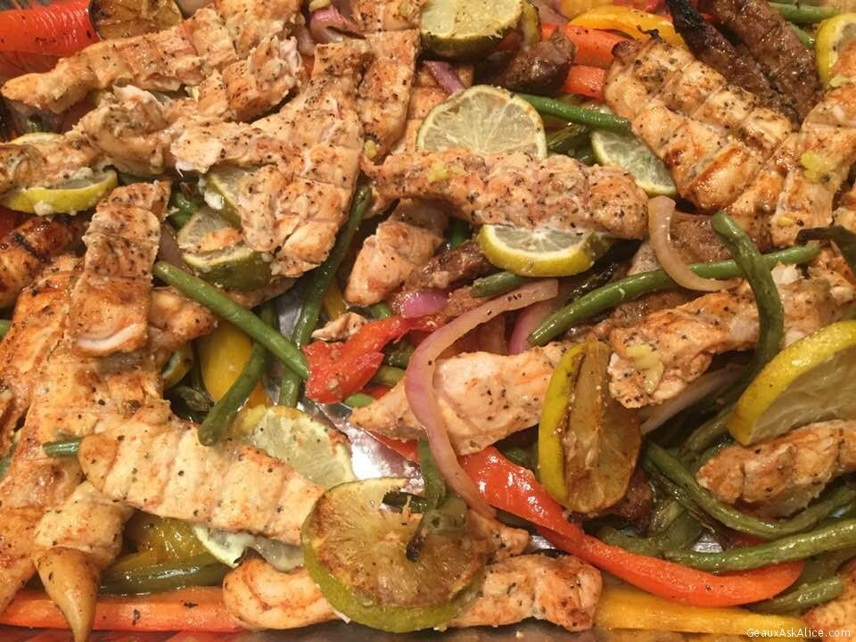 Beef, Chicken And Veggie Fajita Mix2