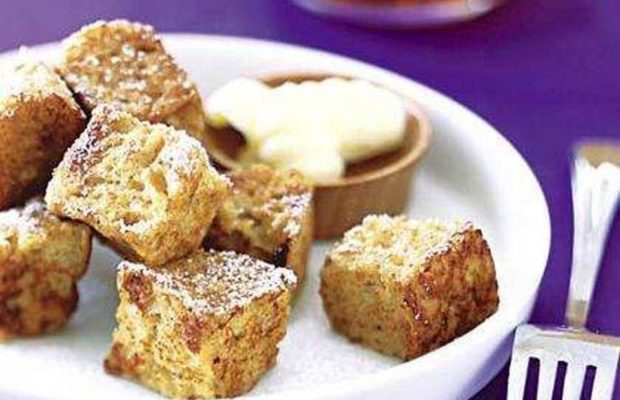 Crispy French Toast Bites