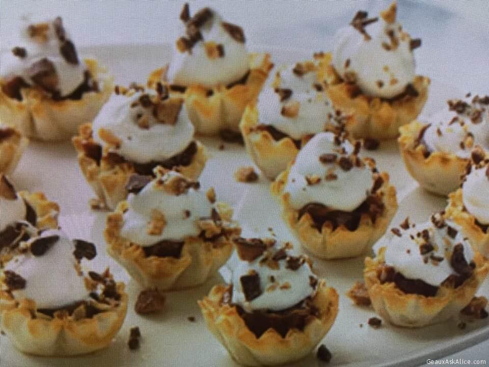 Quick Dulce De Leche Petite Tarts