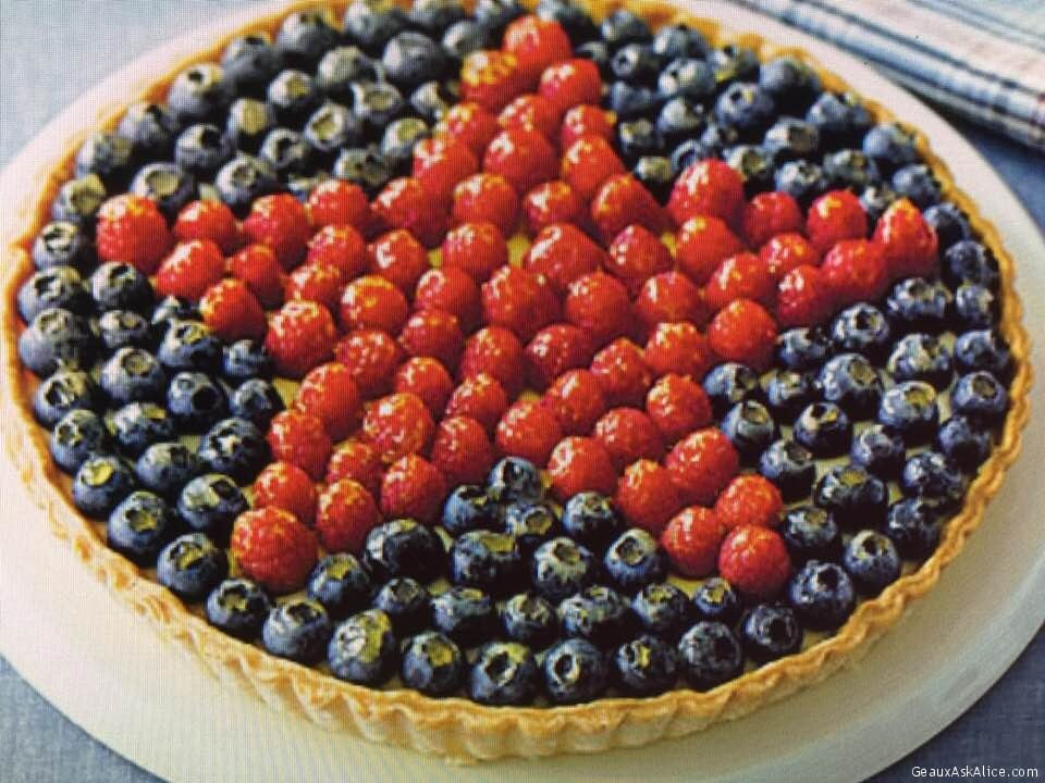 All-American Berry Tart