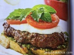 Freshest Caprese Burger