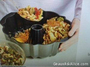 Today's Tip: Make your next Casserole in a Bundt Pan! Amazing idea!