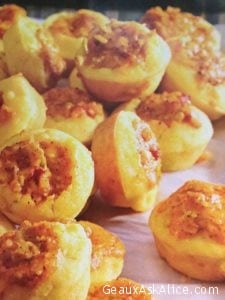Mini Corn Muffin Bites with Spicy Cheddar Filling