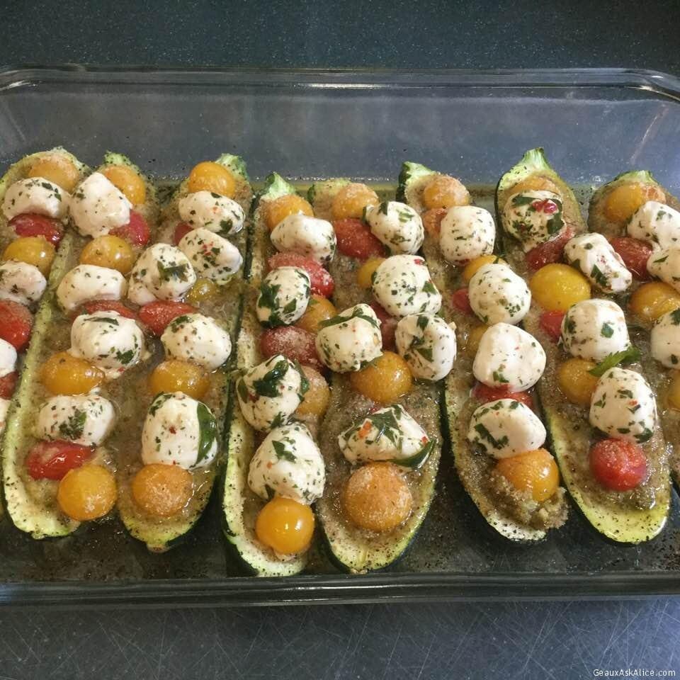 Scrumptious Zucchini Boats