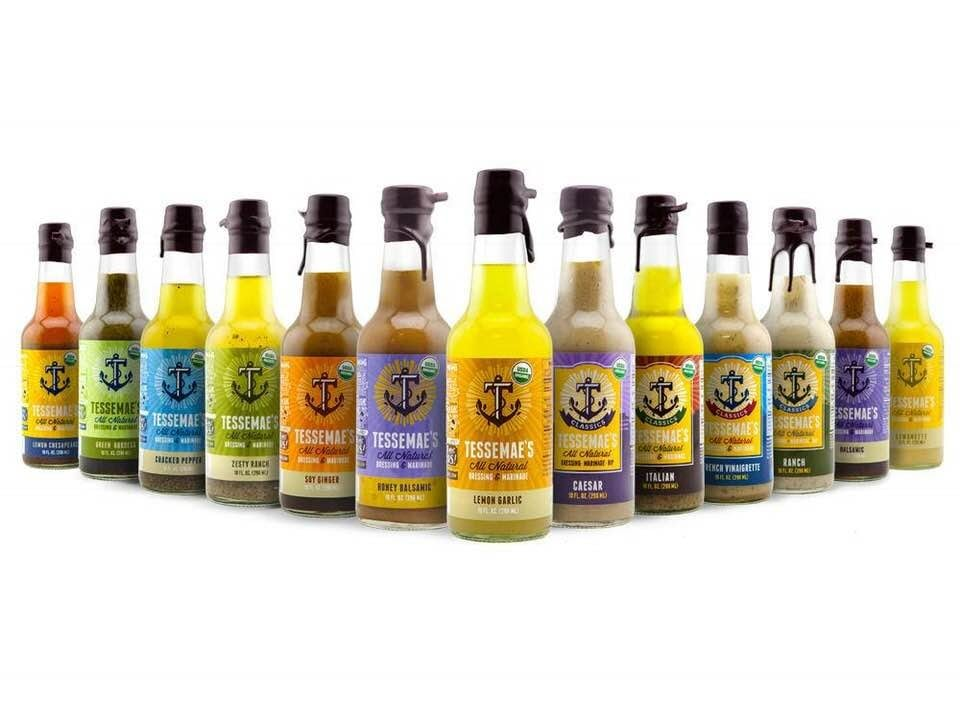 Today's Product Is TESSEMAE'S ALL-NATURAL ORGANIC DRESSINGS/MARINADES