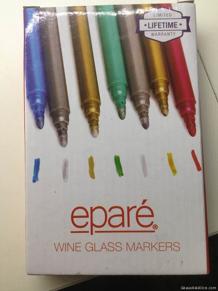 Today's Gadget Are The Epare Wine Glass Markers!