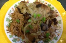 Alice's Baked Pork Chops With Orzo