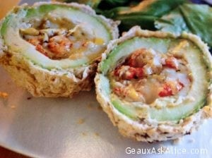 Crawfish Stuffed Avocados