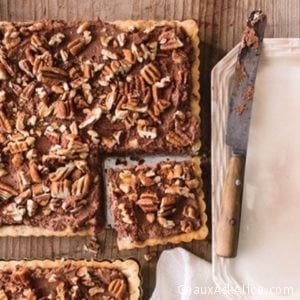 Delicious Chocolate Pecan Mousse Tart