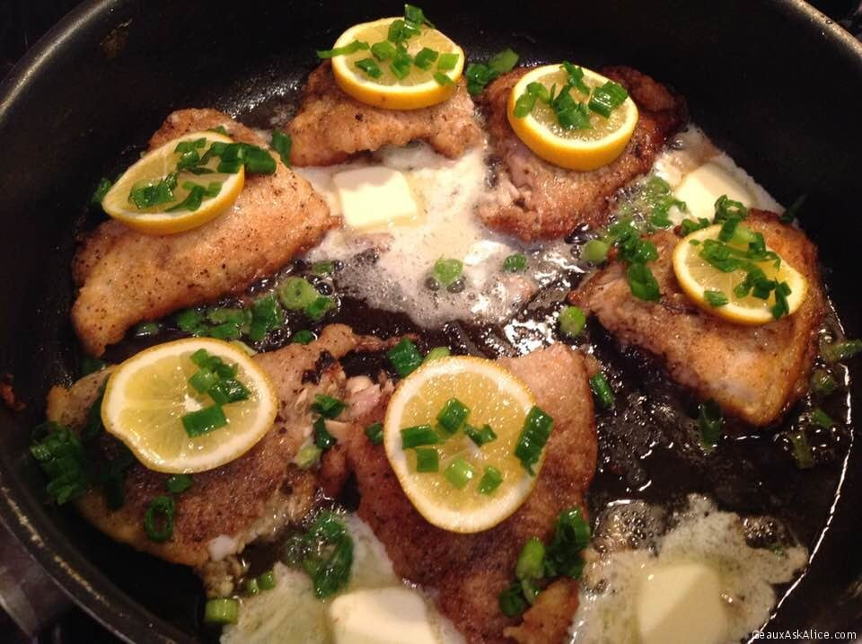 Pan-Fried Speckled Trout With Brown Butter
