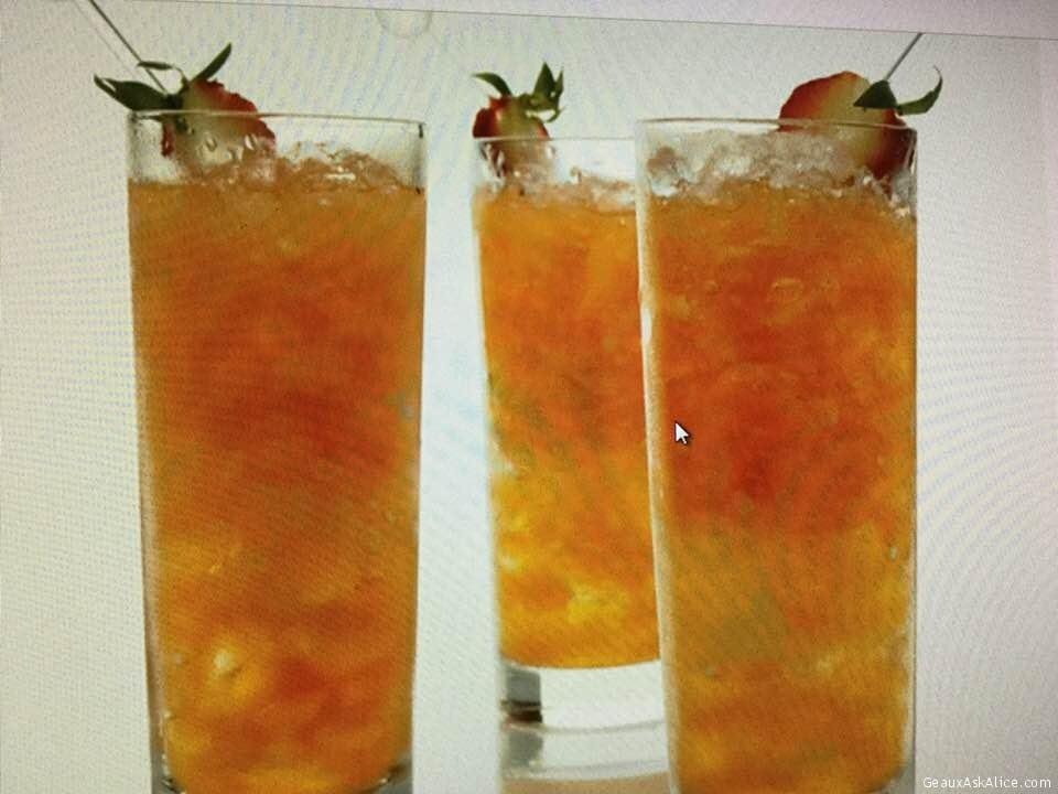 Tangy Lemony Strawberry Mojitos