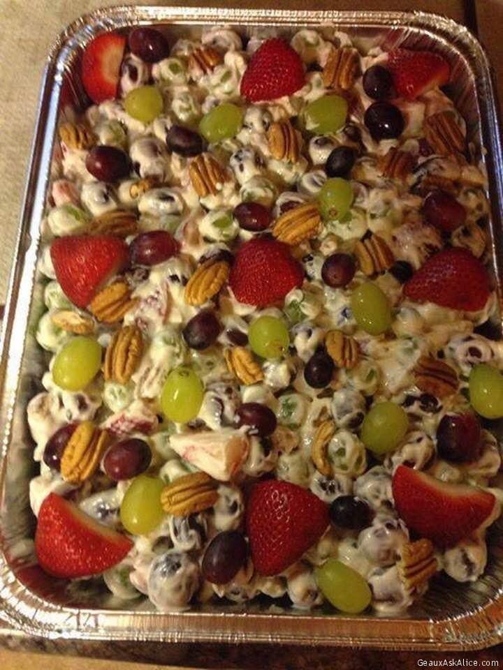 Becky's Grape Salad