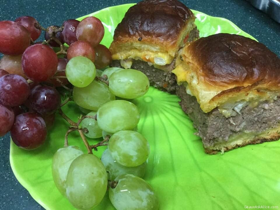 Cheesy Burger Sliders