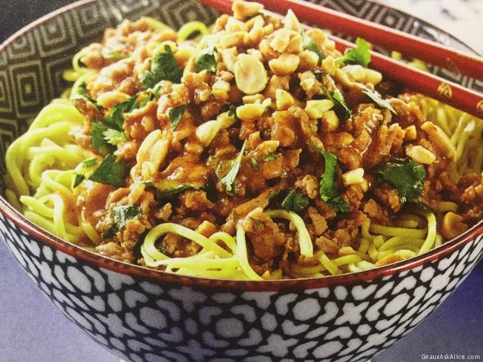 Dan-Dan Noodles With Pork