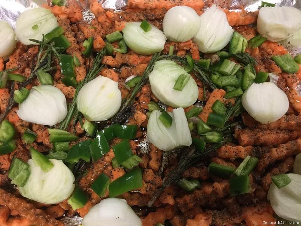 Spicy Crinkle Cut Yams