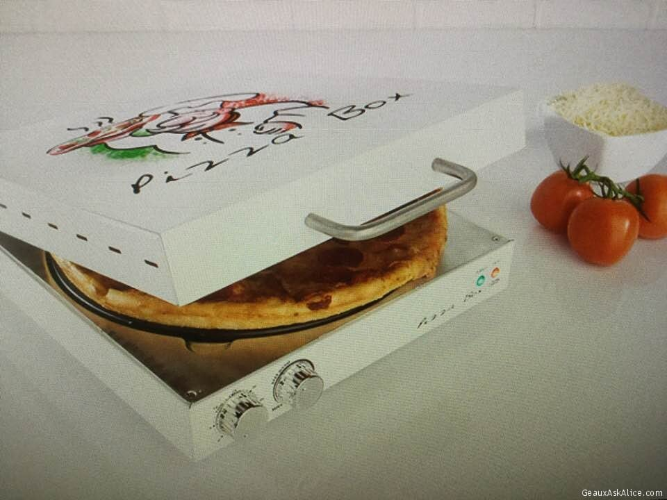 Today's Gadget Is The Pizza Box Oven!