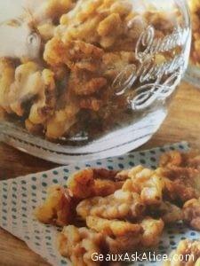 Zingy Rosemary Walnuts