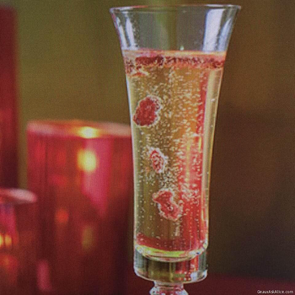 Crispy Cranberry Champagne
