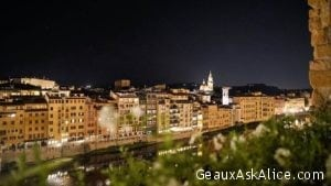 Florence at night!