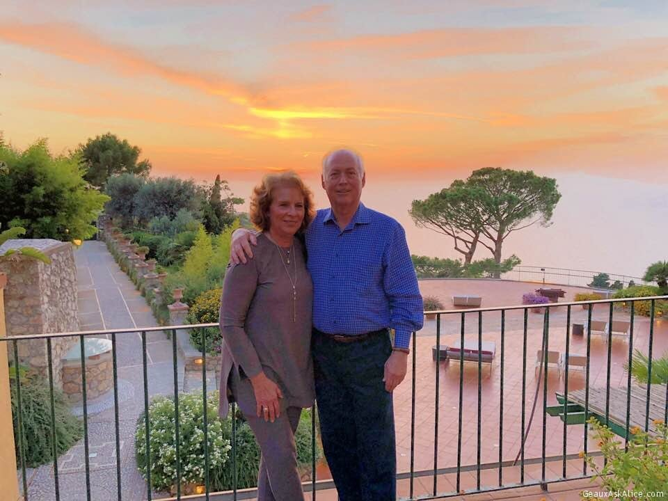 Our Last Evening In Capri. On Our Way To Rome