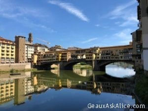 We have arrived in Florence