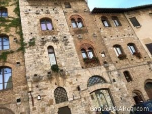 Within the walls of San Gimignano
