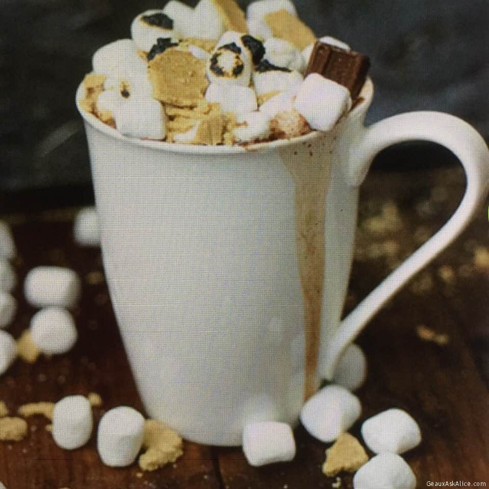 Adult Boozy S'Mores Hot Chocolate