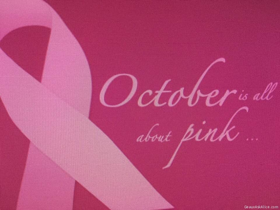 And Every Month Should Always Be About PINK!