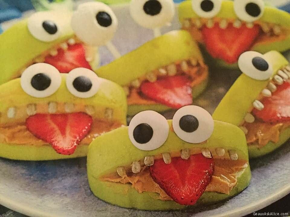 Apple Monster Mouths!