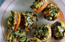 Delicious Mini Spinach Frittatas
