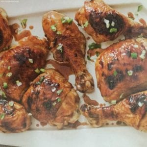Honey-Cane Vinegar Glazed Chicken