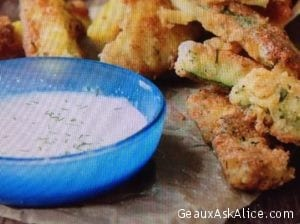 Ranch Style Fried Zucchini