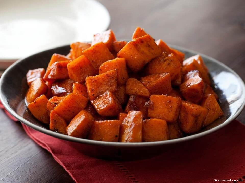 Honey-Cinnamon Roasted Yams