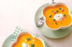 Flavorful Crockpot Carrot-Ginger Soup