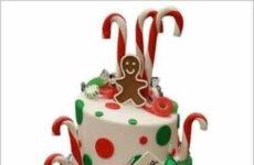 Ginger Bread Christmas Cake